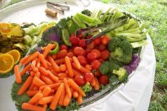Food-vegtable-platter